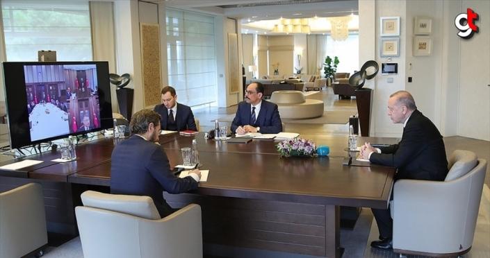 Cumhurbaşkanı Erdoğan Yeni Yargı Reformu ve İnfaz Yasası İstişare Toplantısı gerçekleştirdi