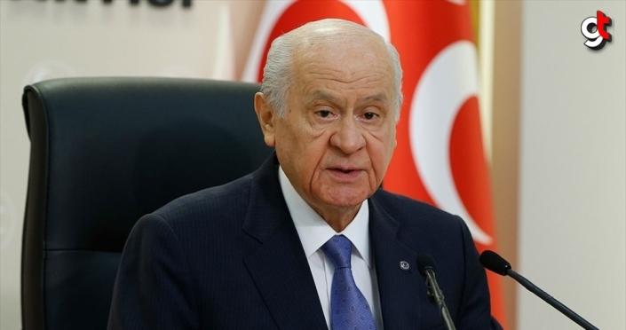 MHP Genel Başkanı Bahçeli: Virüs eninde sonunda yenilecek