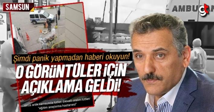 Samsun'da koronavirüs vakası var mı? Vali Kaymak'tan son dakika açıklaması
