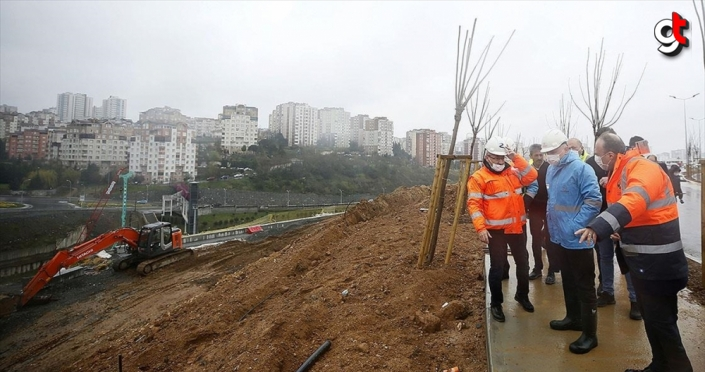 Başakşehir İkitelli Şehir Hastanesi'nin yolları 20 Mayıs'a kadar tamamlanacak