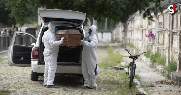 Brezilya'da Kovid-19'dan ölenlerin sayısı 11 bin 123'e yükseldi