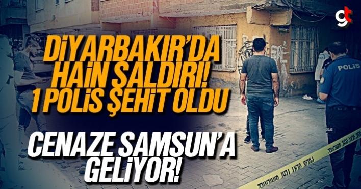 Diyarbakır'da hain saldırıda Samsunlu polis şehit oldu