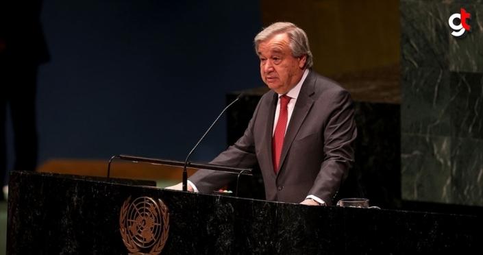Guterres'ten video mesajlı BM Genel Kurulu önerisi