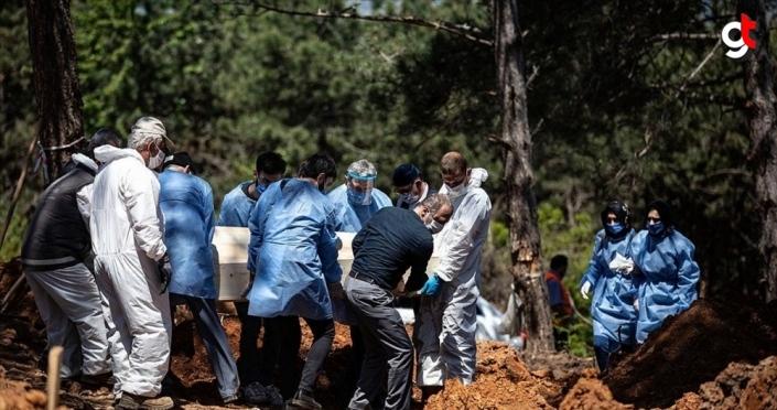 Kovid -19'dan ölenlerin cenaze işlemleri dini usullere uygun yapılıyor