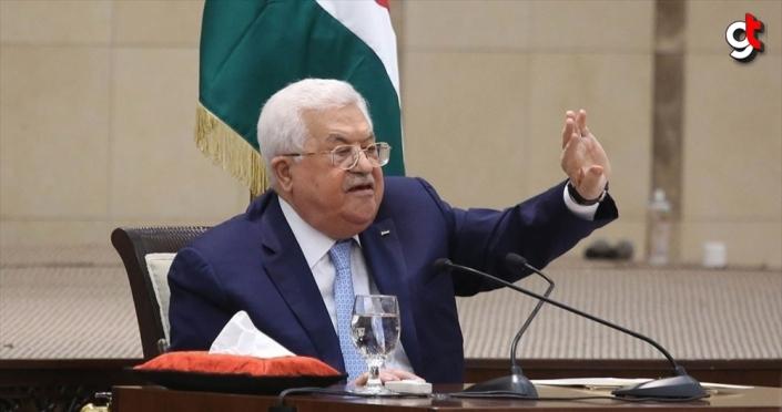 Mahmud Abbas güvenlik birimlerine İsrail ile koordineyi durdurma talimatı verdi