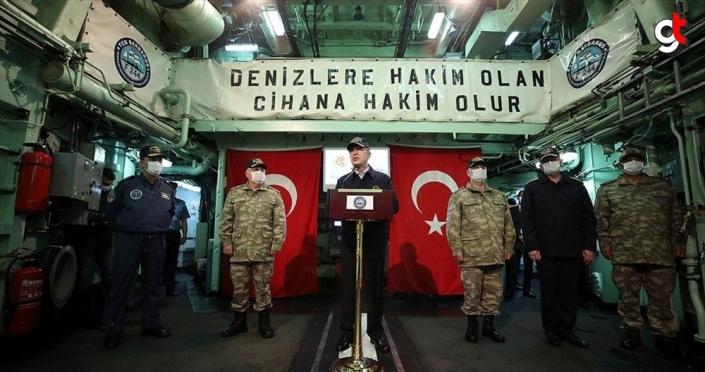 Milli Savunma Bakanı Akar: Ege'de yapılan tacizlerin izahı mümkün değildir