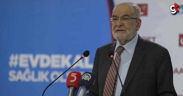 Saadet Partisi Genel Başkanı Karamollaoğlu: Sağlık çalışanlarına bayram öncesi bir maaş ikramiye verilmeli