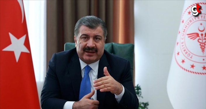 Sağlık Bakanı Koca'dan gençlere teşekkür mesajı