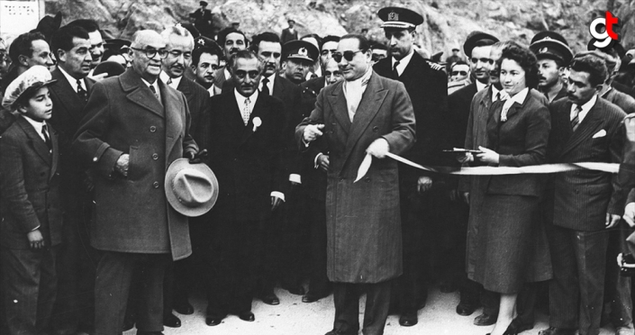 Suya atılan Adnan Menderes imzası
