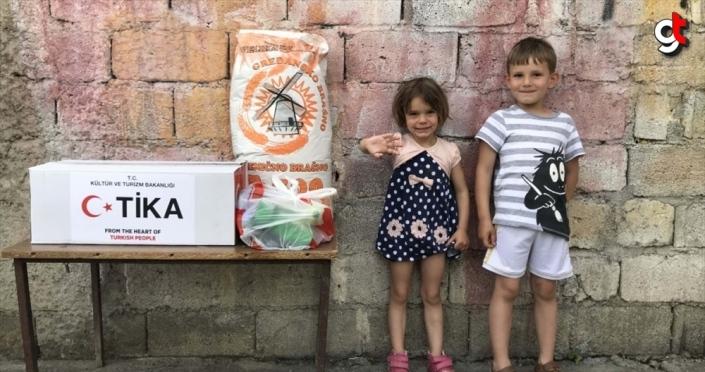 TİKA Karadağ'da Gıda ve Hijyen Destek Programı başlattı