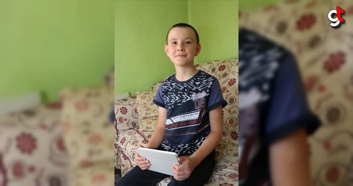 10 yaşındaki Enes artık EBA dersleriniizlemek için yürümek zorunda kalmıyor