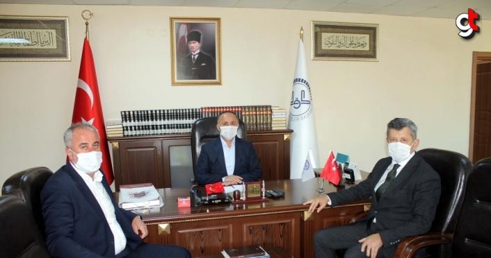 AK Parti İl Başkanı Tosun'dan ziyaret