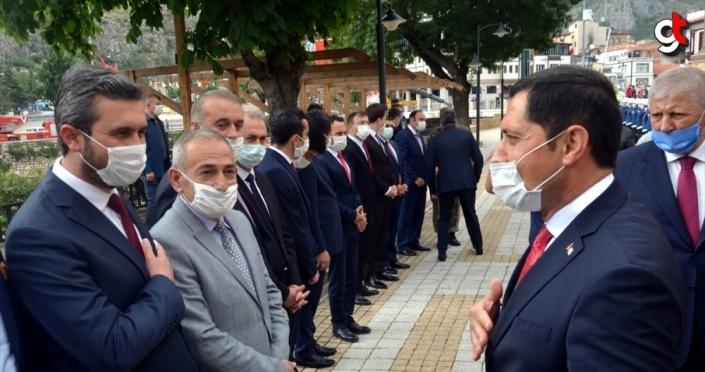 Amasya Valisi Mustafa Masatlı görevine başladı