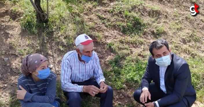 Amasya'da evden çıkan yangın hasara neden oldu