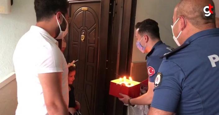 Amasya'da polisten