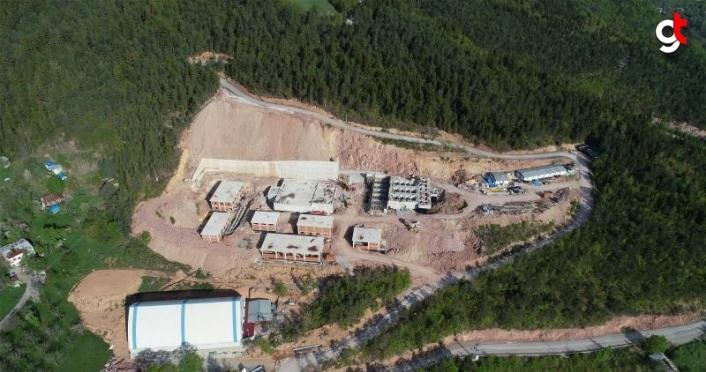 Artvin içme suyu arıtma tesisinde yüzde 50 fiziki gerçekleşme sağlandı