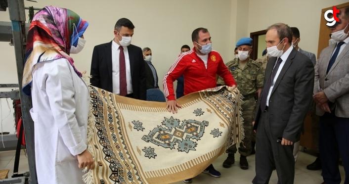 Bayburt Valisi Epcim, Aydıntepe ilçesini ziyaret etti