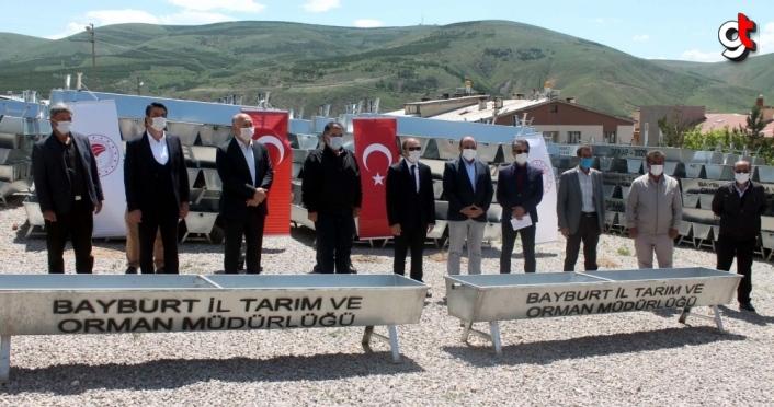 Bayburt'ta köylere 119 sıvat yerleştirilecek
