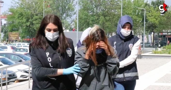 Bolu'da 2'si kadın 3 hırsızlık şüphelisi suçüstü yakalandı