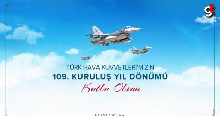Cumhurbaşkanı Yardımcısı Oktay, Hava Kuvvetlerinin 109. kuruluş yıl dönümünü kutladı