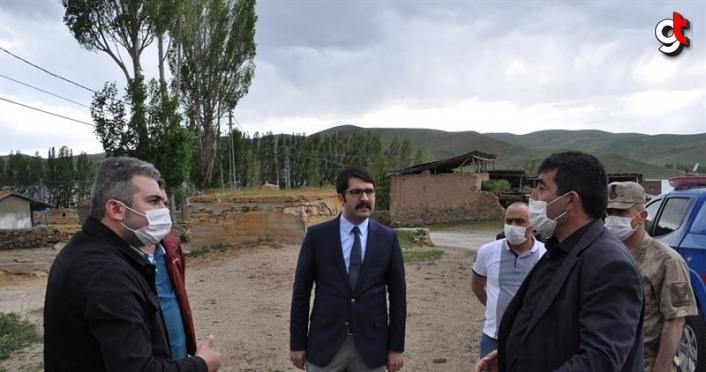 Demirözü Kaymakamı Coşkun'dan köy ziyaretleri