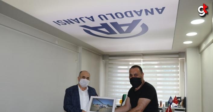 Düzce Valisi Dağlı'dan AA Düzce Bürosu'na ziyaret