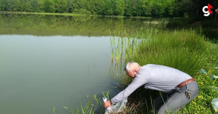 Düzce'de 40 bin sazan balığı göl ve göletlere bırakıldı