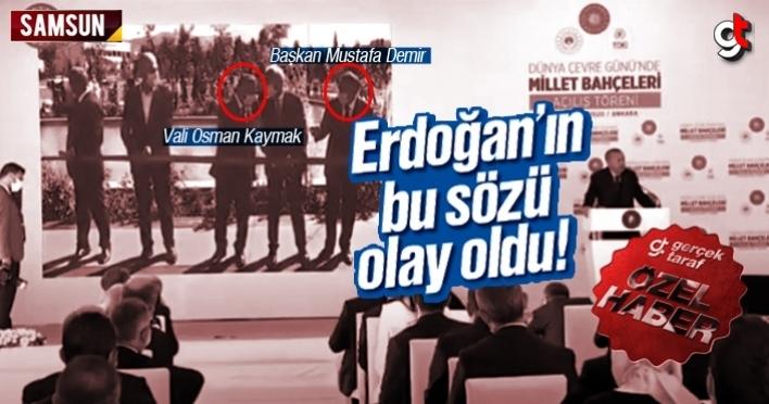 Erdoğan, 'Biz size sahip çıkalım, Siz camiyi yaparım diyemiyorsunuz'