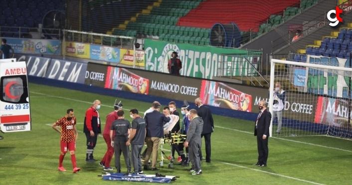 Galatasaray'da Muslera sakatlandı