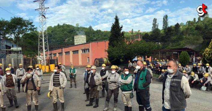 GMİS Genel Başkanı Yeşil, maden işçilerini ziyaret etti