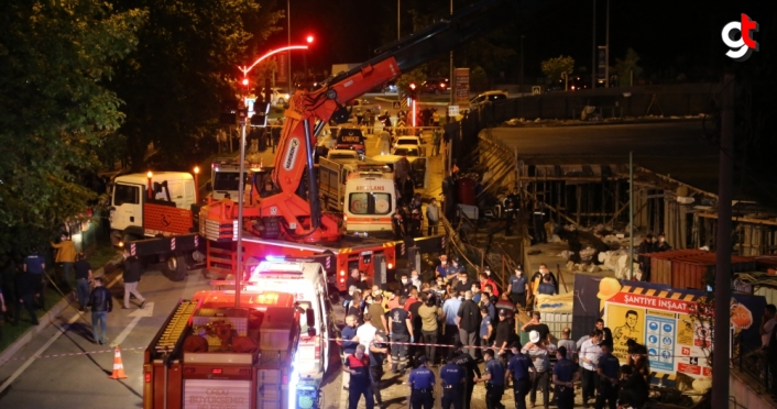 GÜNCELLEME 2 - Ordu'da bir otel inşaatında çökme meydana geldi: 1 ölü, 8 yaralı
