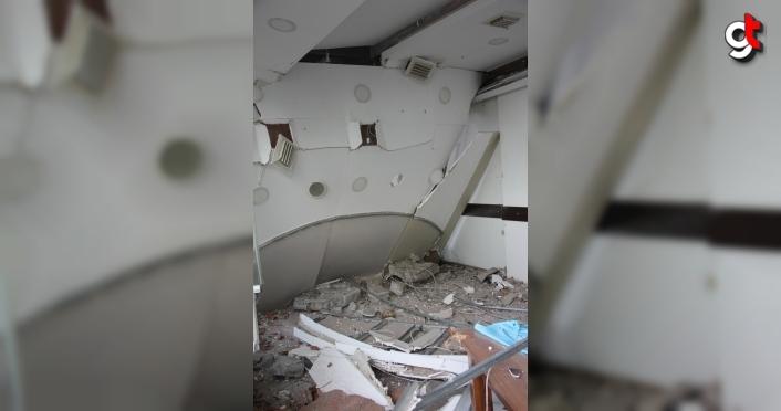 GÜNCELLEME - Ordu'da benzin istasyonunun restoran bölümünde patlama: 1 yaralı