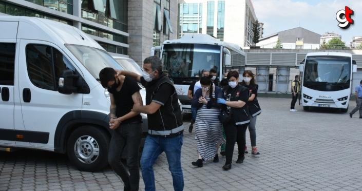 Samsun merkezli uyuşturucu operasyonunda 8 şüpheli tutuklandı