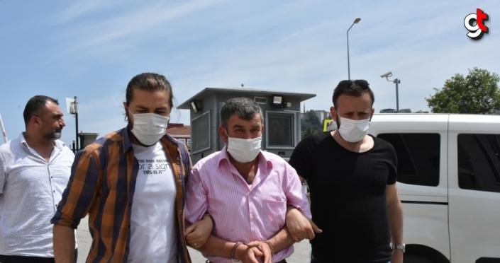 Samsun'da babasının katilini öldüren zanlı tutuklandı