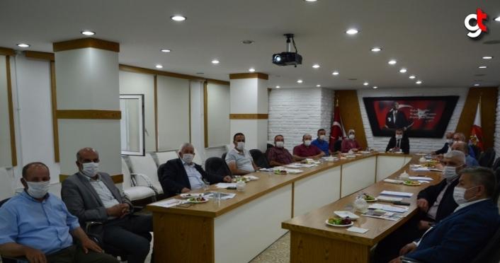 Havza Belediye Meclisi  toplandı
