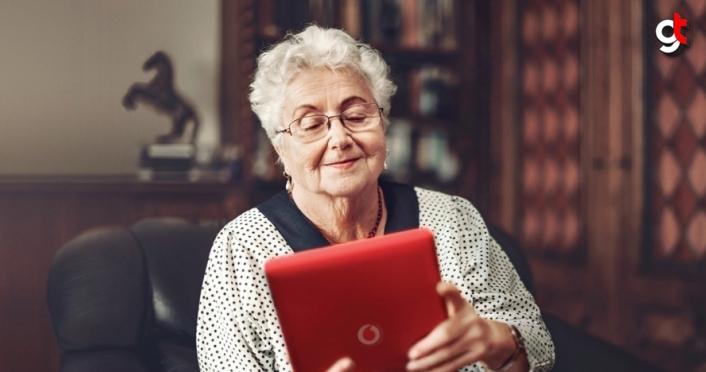 Huzurevlerindeki yaşlılar Vodafone ile sevdiklerine kavuşuyor