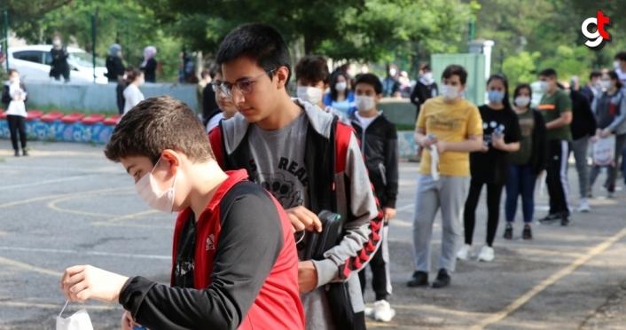 Karabük'te 3 bin 500 öğrenci LGS heyecanı yaşadı
