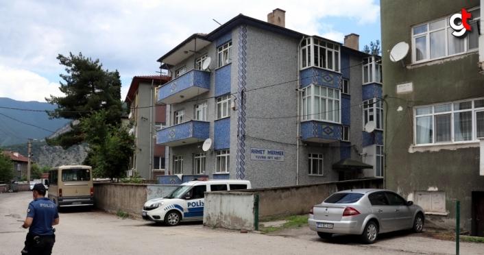 Karabük'te bir apartman karantinaya alındı