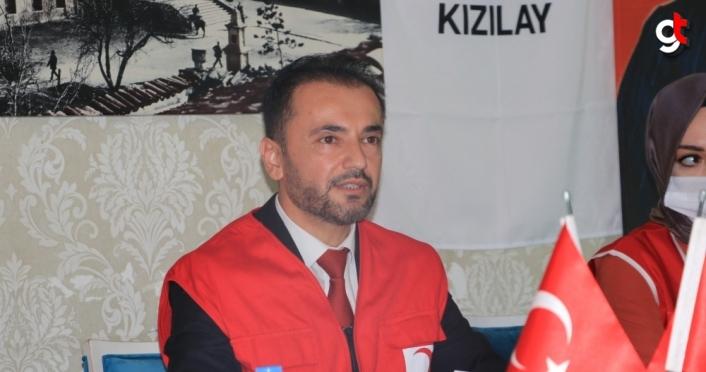 Kastamonu'da Türk Kızılay ekipleri 60 bin kişinin yüreğine dokundu