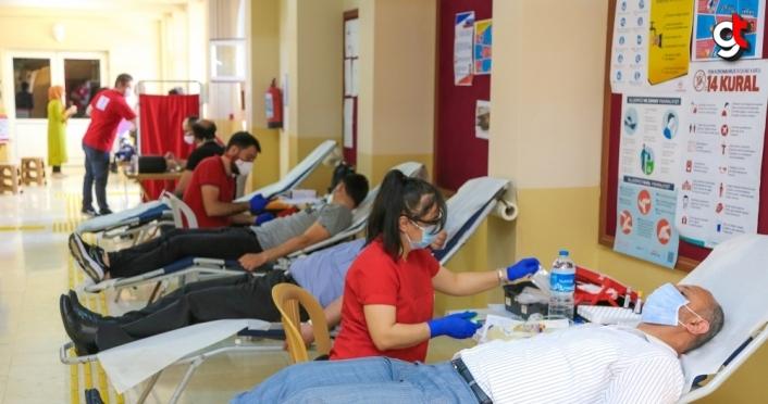 KBÜ'den kan bağışına destek