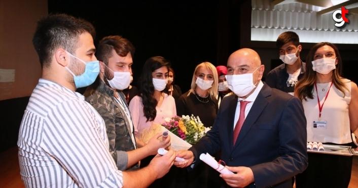 Keçiören Belediye Başkanı Turgut Altınok'tan öğrencilere YKS pastası