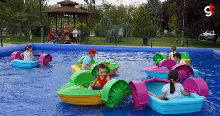 Keçiören Belediyesi'nden çocuklara ücretsiz mini bot