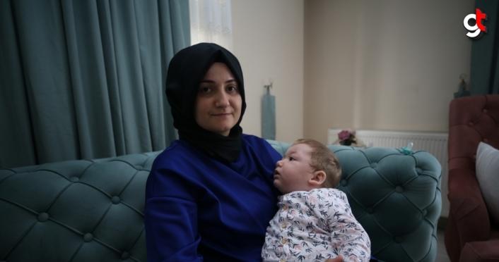 Kök hücre tedavisi minik Resul Hamza'ya