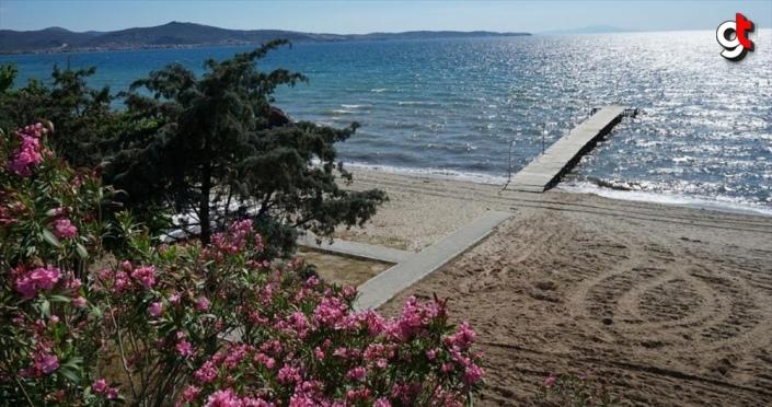Kuzey Ege'nin gözde tatil merkezleri tedbirlerle yeniden açıldı