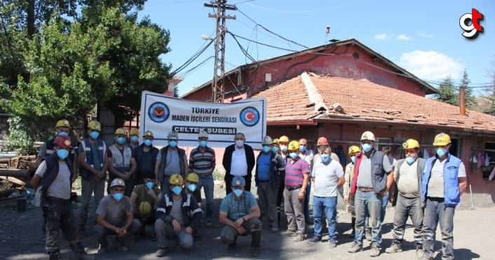 Madenciler kıdem tazminatının mevcut haliyle korunmasını istiyor
