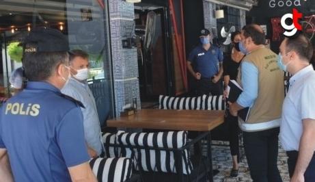 Merzifon'da restoran, kafe, kıraathane ve lokantalar denetlendi