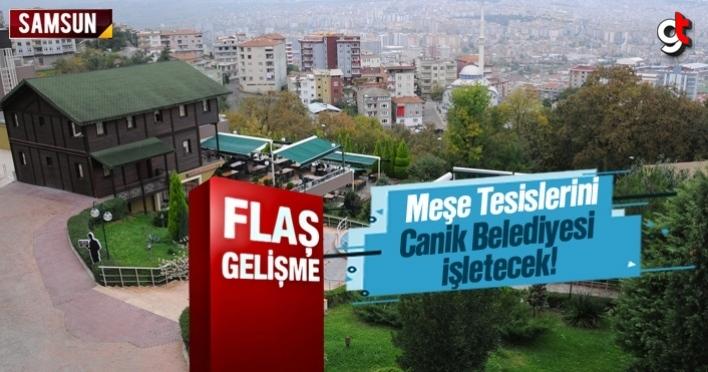 Meşe Tesisleri, tekrar Canik Belediyesi tarafından işletilecek