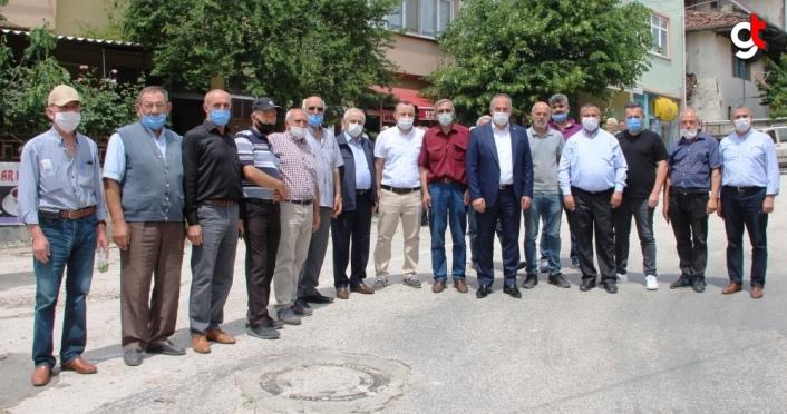 Milletvekili Tuncer doludan etkilenen Destek köyünü ziyaret etti