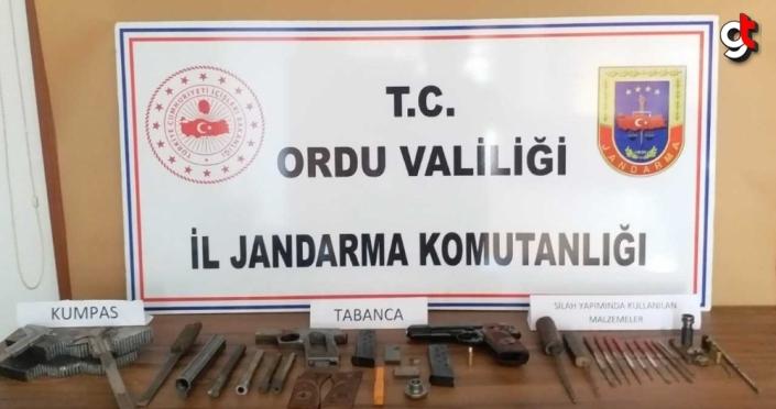 Ordu'da yasa dışı silah imal ve ticaretine yönelik 5 kişi yakalandı