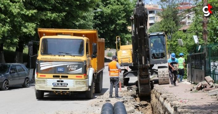 Safranbolu Belediyesinden altyapı çalışmaları